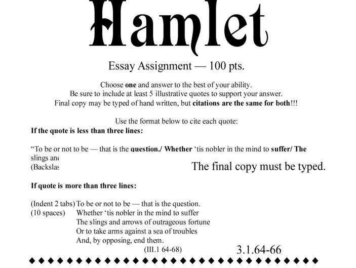hamlet research paper topics Hamlet: essay topics 1) conflict is essential to drama show that hamlet presents both an outward and inward conflict 2) how do hamlet's seven soliloquies reveal his character.