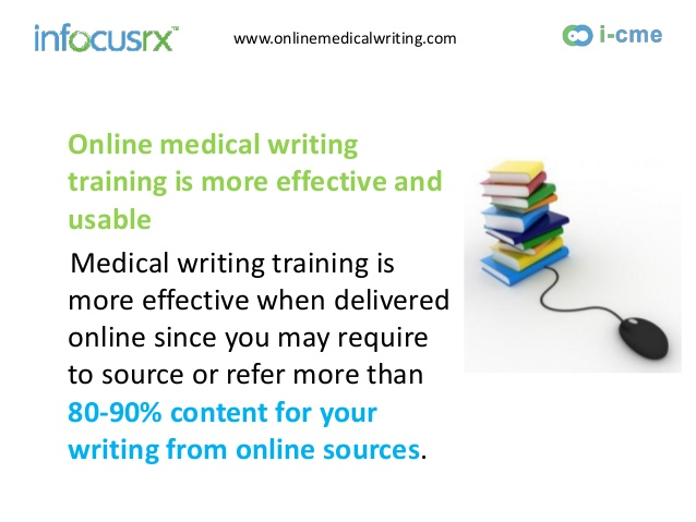 medical writing courses online