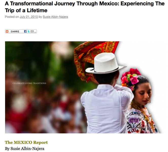 Journey Mexico on The Mexico Report