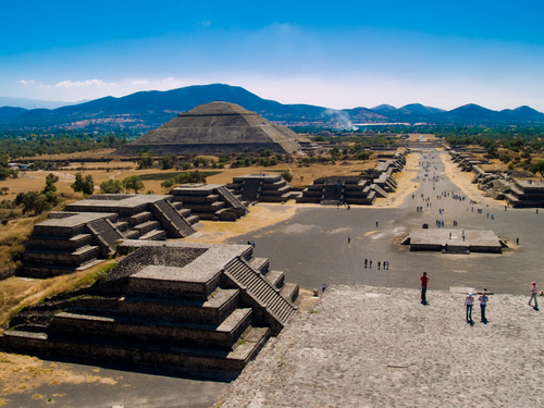 Teotihuacan temples