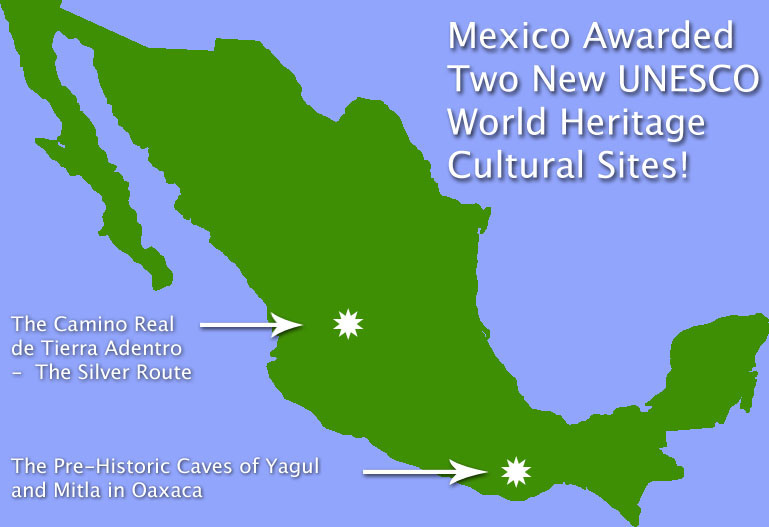 Mexico's New UNESCO World Heritage Sites