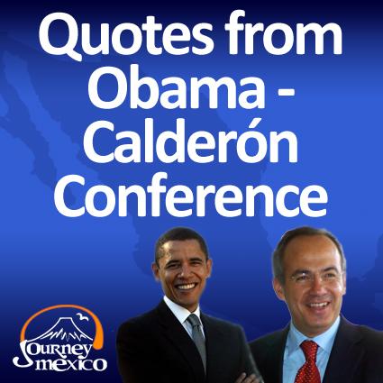 Obama Calderon Press Conference