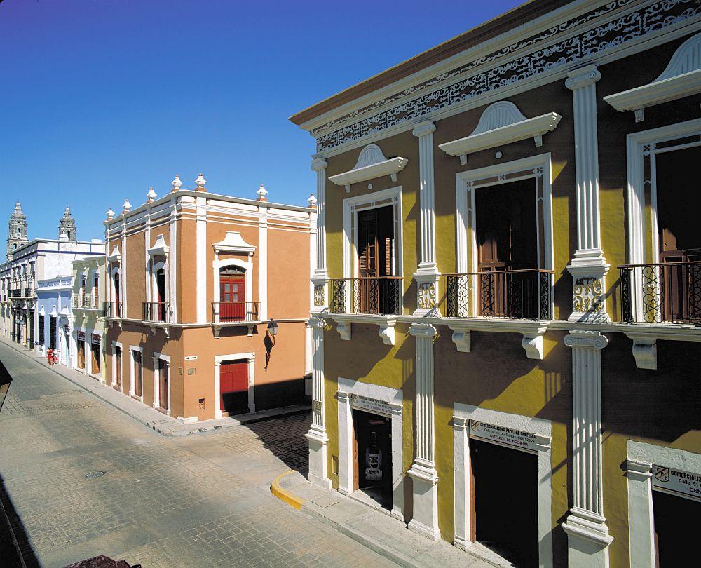 campeche city street