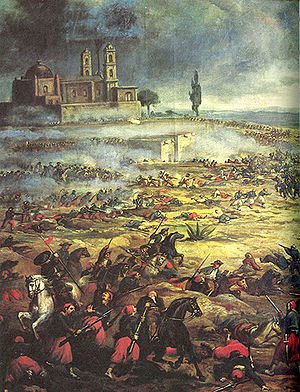 The battle of Puebla on cinco de mayo