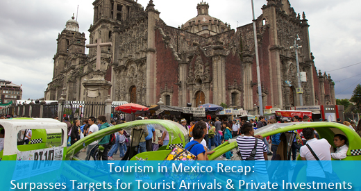 Tourism In Mexico Recap Surpasses Targets For Tourist Arrivals And Private Investments