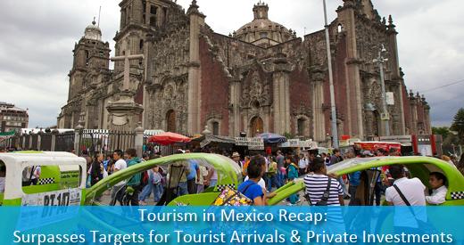 Tourism In Mexico Recap Surpasses Targets For Tourist