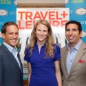 Travel + Leisure 2012 A-List Travel Agent Zachary Rabinor with Jean-Paul Kyrillos, VP/Publisher, and Clara Sedlak, Senior Editor of Travel + Leisure
