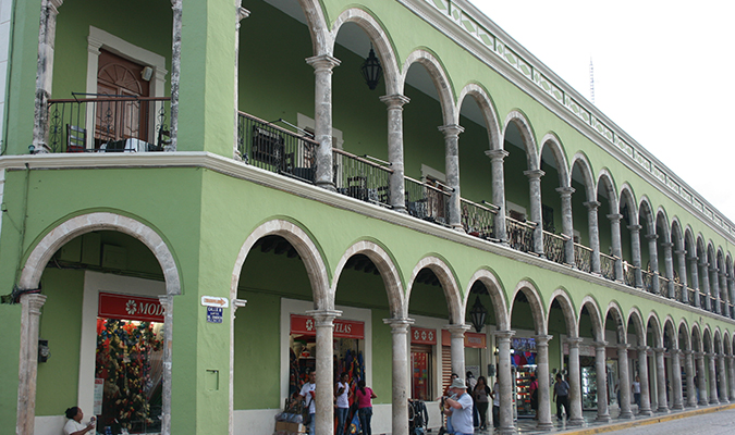 Campeche Building Treasures