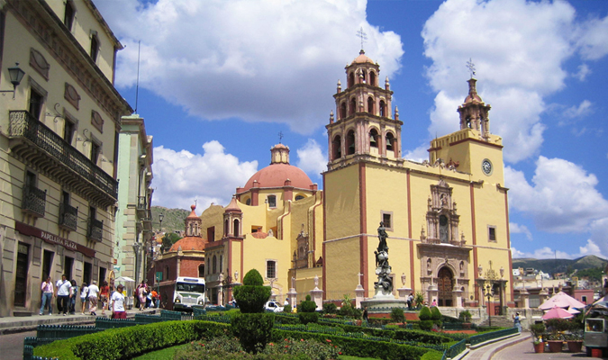 Mexican colonial cathedrals