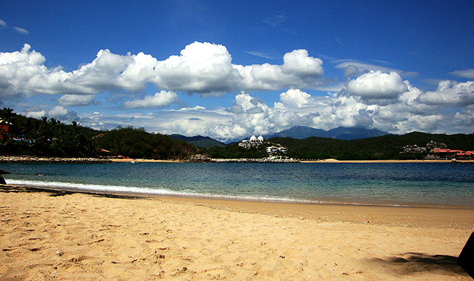 Beach in Huatulco