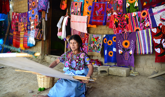 Chiapas weaving