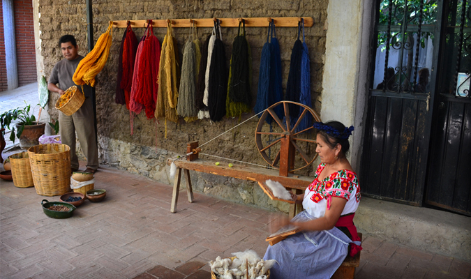 Weaving in Mexico