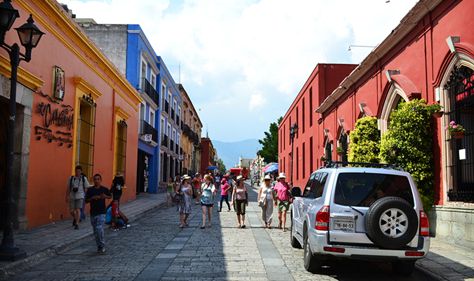 Oaxaca Street City Culture