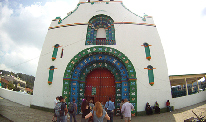 Church in San Juan Chamula