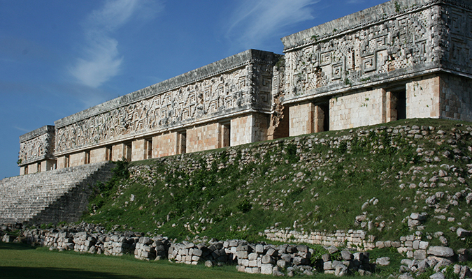 Uxmal Pyramide Treasures