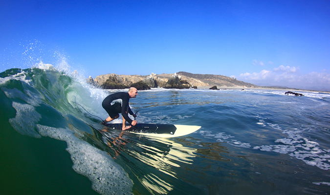 Pacific Coast Surfing Adventure