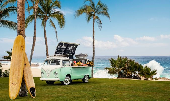 One&Only Palmilla Mobile Margarita Bar
