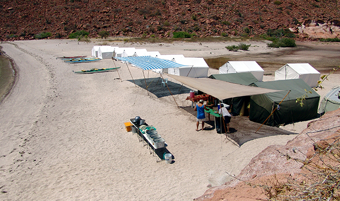 Camp Setup in Baja
