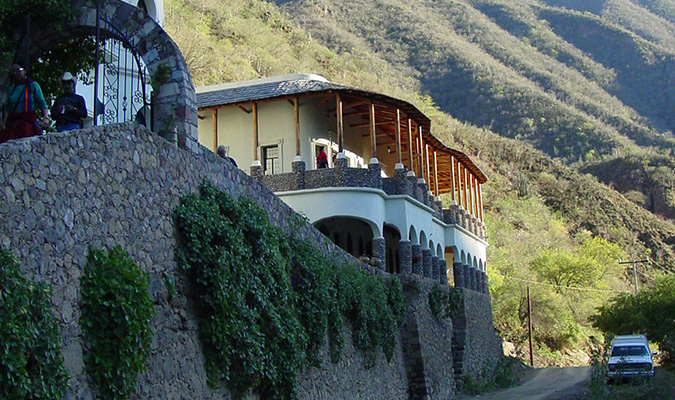 Copper Canyon Batopilas Building
