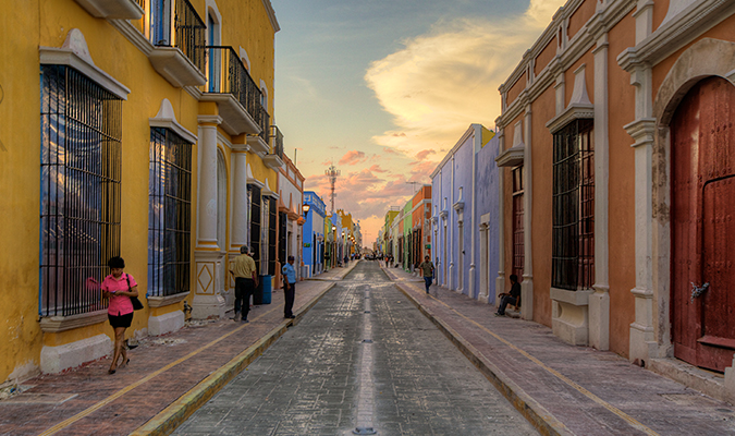 Campeche Street City Tour