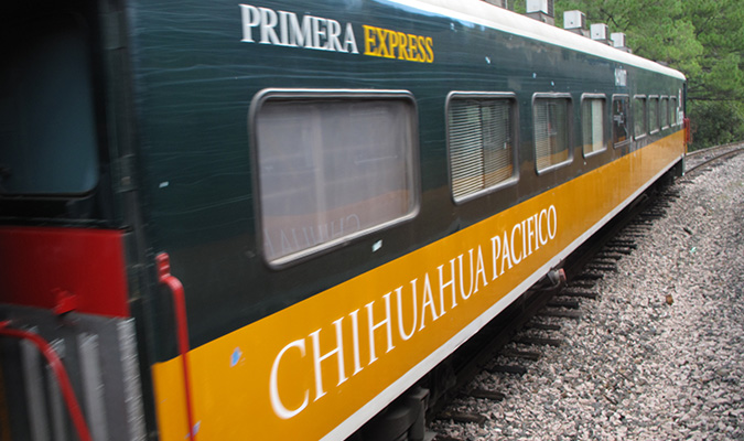 Chihuahua Pacifico Train