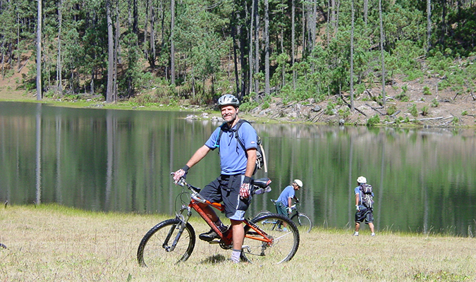 Oaxaca Lake Cycling Excursion