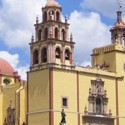 Cathedral from Street Guanajuato