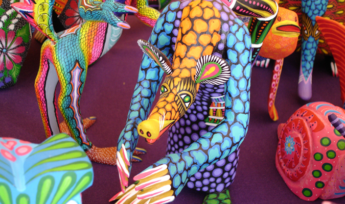 Traditional Oaxacan Alebrijge