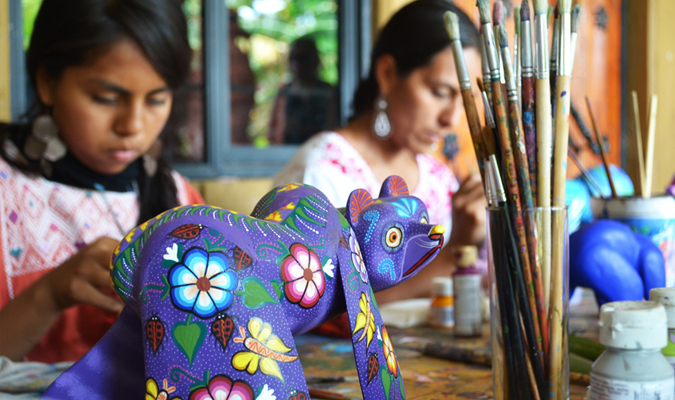 Oaxaca Native Crafts Journey Mexico