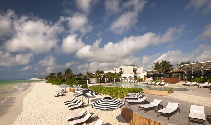 Playa del Carmen luxury hotel in Mayakoba