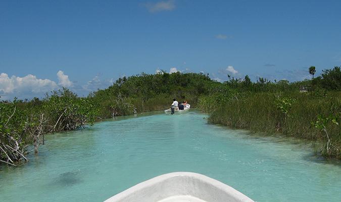 Paseo en barco Sian Kaan