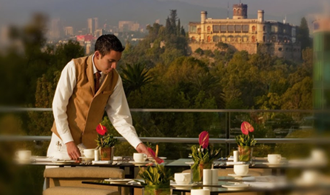 The St. Regis Mexico City overlooks the Paseo de la Reforma in the heart of one of the city's most exciting zones.