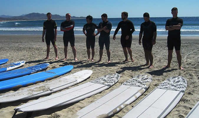 Baja Adventure Surf Lessons
