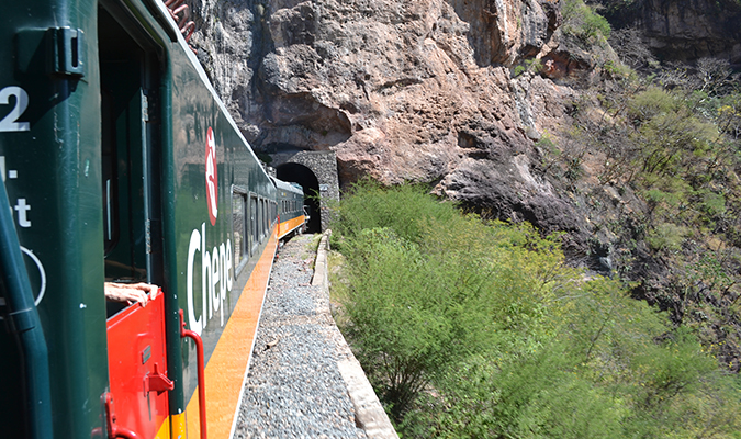 El Chepe Train Tunnel