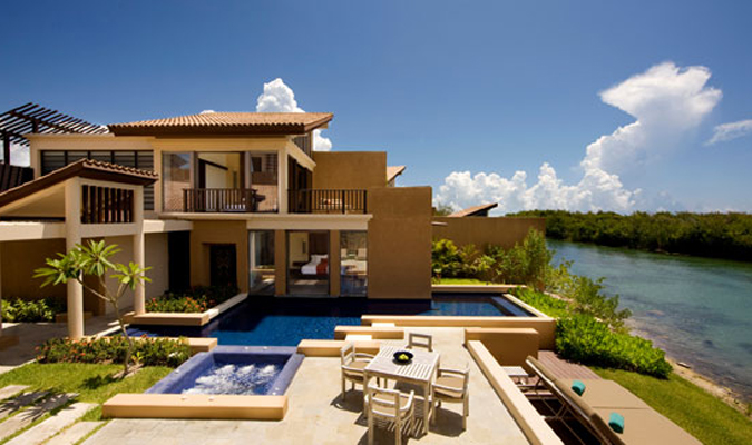 Bayantree luxury resort in Mayakoba Mexico