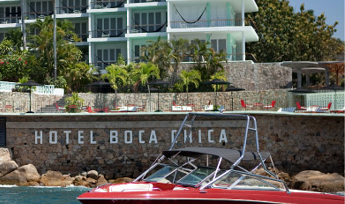 Boutique chic hotel in Acapulco