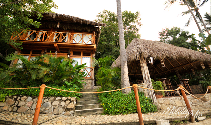 Boutique hotel in costa alegre