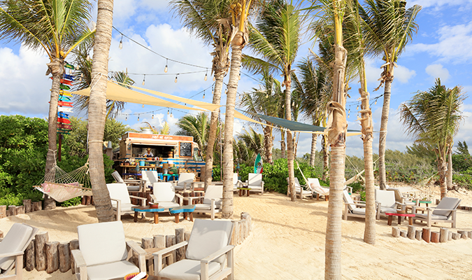 Rosewood Mayakoba beach club