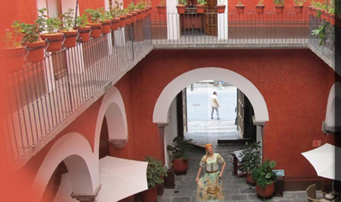 Puebla boutique hotel in centro