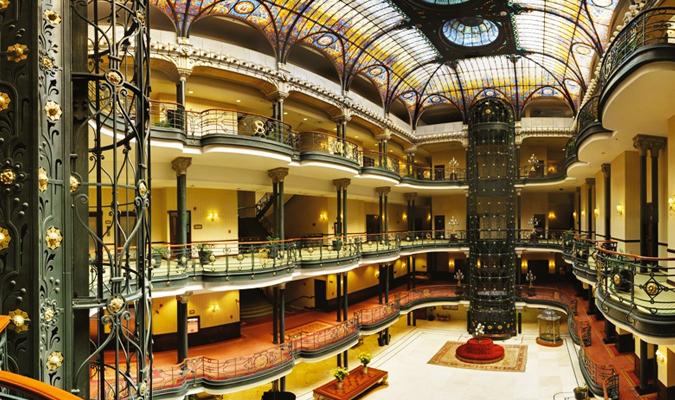 Gran hotel ciudad de mexico mexico city journey mexico for Hotel centro