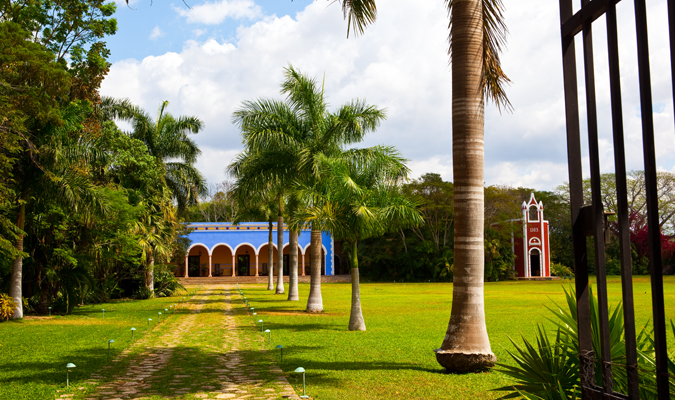 Hacienda Santa Rosa Luxury hotel in Yucatan