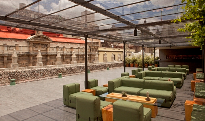 Boutique hotel in Mexico City