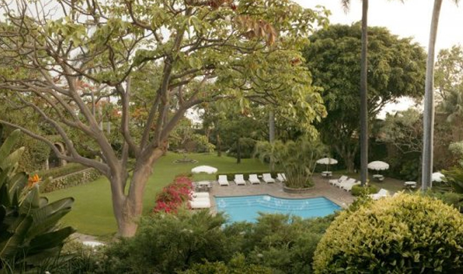 Luxury hotel in Cuernavaca