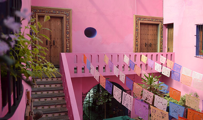 Mexican boutique hotel in Puebla