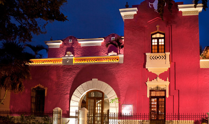 Romantic hotel in Merida