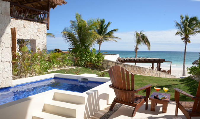 Boutique hotel in Tulum
