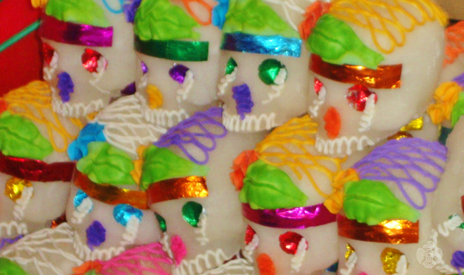 Mexico Day of the Dead calacas