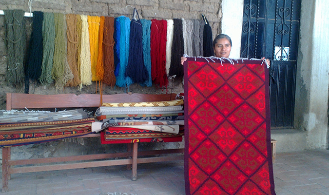 Oaxaca native crafts