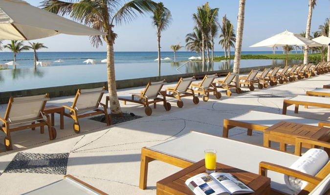 Luxury hotel in Riviera Maya