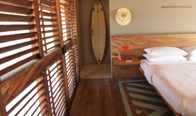 Boutique surf hotel Oaxaca